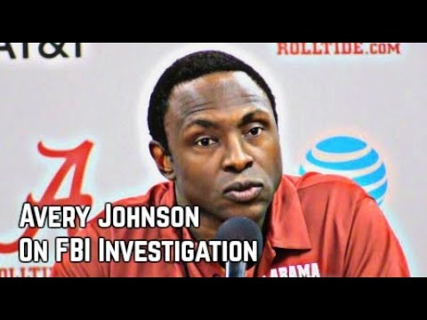 Alabama's Avery Johnson on FBI investigation