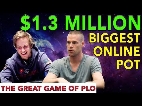 $1.3 Million Dollar Pot Online!!!! Patrik Antonious vs Isildur1 | PLO