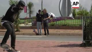 New Skate Park Empowers Ethiopian Youth - አዲስ የስኬት ፓርክ ቢኖር ወጣቶችን ያበረታታል
