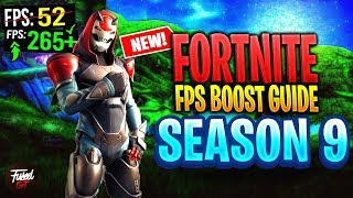FORTNITE Battle Royale Season 9/10 increase performance / FPS with any setup! FPS BOOST Fortnite