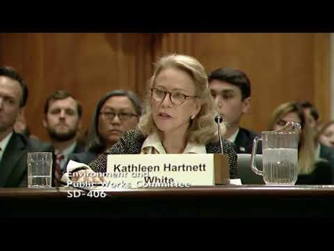 Senator Cardin Questions Kathleen Hartnett White, 11/8/17