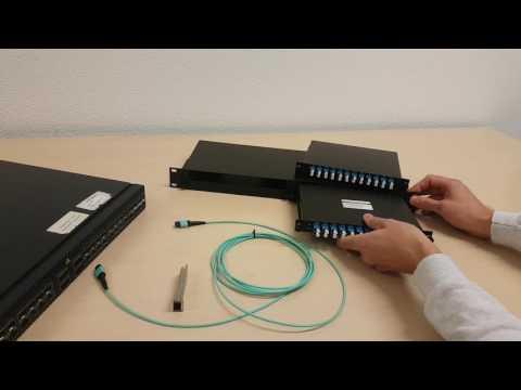 Solid Optics Modular Mux