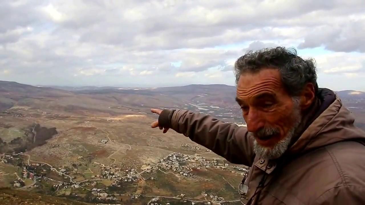 בני קצובר (אלון) מורה-מעל נחל תרצה - YouTube
