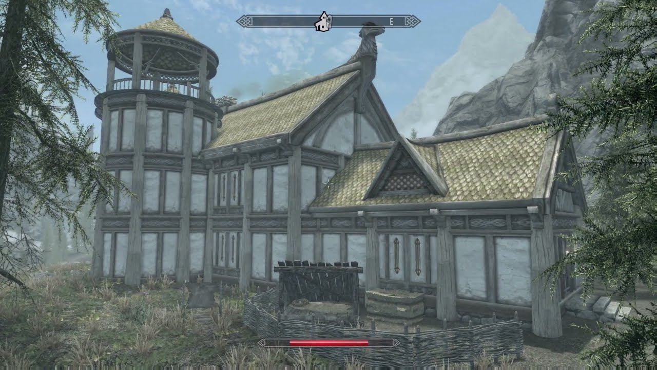 BUILDING A HOUSE IN SKYRIM SKYRIM REMASTERED  YouTube