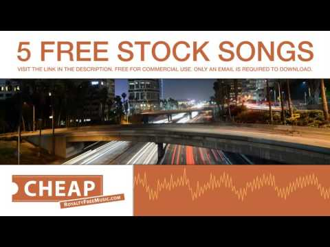 Download 5 Free Stock Songs (Cheap Royalty Free Music)