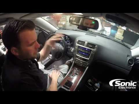 How To Remove Dash Panel & Factory Stereo | 2006-2013 Lexus IS250/IS350/ISF
