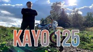 Фото Обзор на питбайк Kayo 125