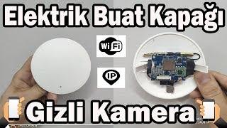 elektrik buat kapağı kablosuz ip wifi gizli kamera kurulum videosu