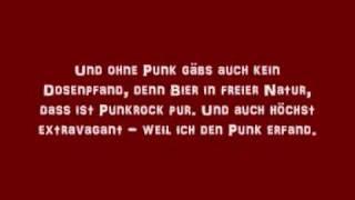 Als ich den Punk erfand - Die Ärzte [with Lyrics/ mit Text zum Mitsingen]
