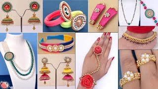 13 DIY Jewelry Ideas !!! Designer Jewelry Making at Home