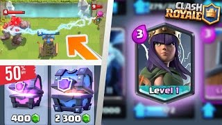 IS IT REAL? NEW ARCHER QUEEN CHALLENGE? CHEAPER CHEST? Clash Royale New 2017 Potential UPDATE LEAKED
