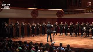 """The STS Professors Choir presents the world premiere of Joe Buono's """"Transcendental Chorales"""" at the 2018 Southeast Trombone Symposium. The piece was ..."""