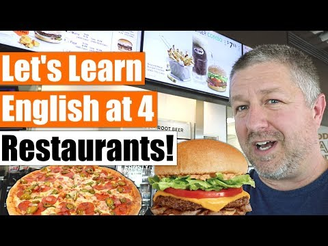 How to Order Food at a Restaurant in English