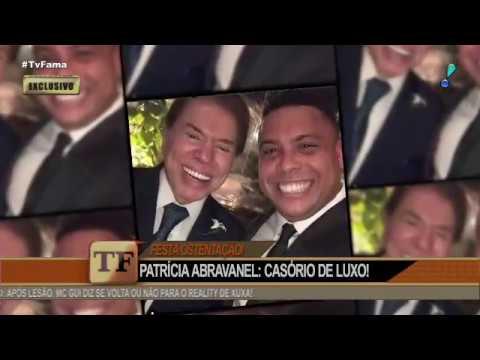 Casamento de Patricia Abravanel e Fábio Faria