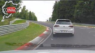 Seat Leon Cupra + VW Golf 7 R - Nürburgring Nordschleife - Touristenfahrten BTG