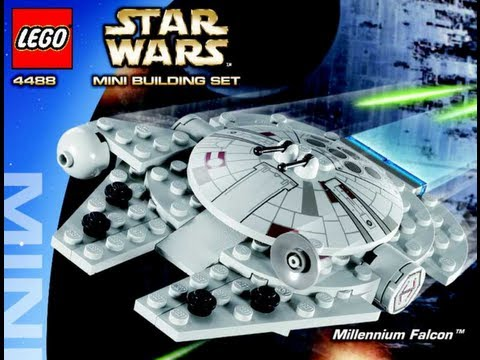 How To Build Lego Mini Millennium Falcon Tm 4488 Instructions Youtube