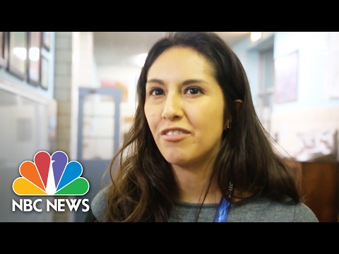 Latinos In Hazelton, PA Worry About President Trump's Executive Orders | NBC News