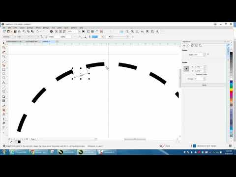 Corel Draw Tips & Tricks Dotted Or Dashed Lines Around A Circle Part 7 Easy Way