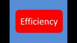 FA: (Lesson 7) How to Analyze Efficiency of a company