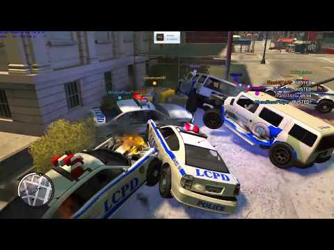 "GTA IV/TBoGT - ""Busted!"" Only [x7] (Custom Game Mode/Type)"