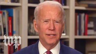 Biden: 'We shouldn't have had the election in the first place'