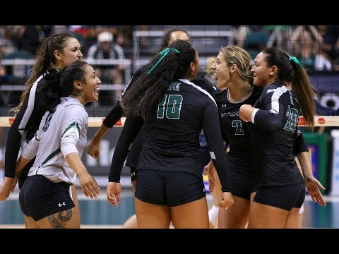 Rainbow Wahine Volleyball 2017 - Rematch: Hawaii Vs Northern Arizona