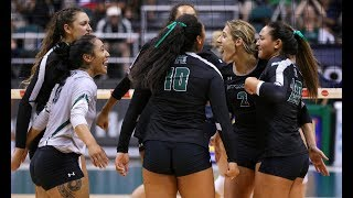 Rainbow Wahine Volleyball 2017 - Rematch: Hawaii Vs Northern Arizona