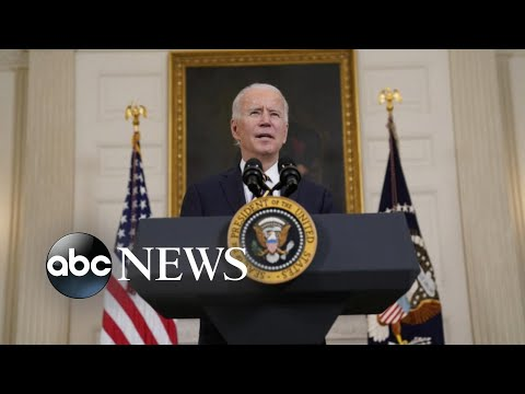 Biden takes military action for the 1st time in office l GMA