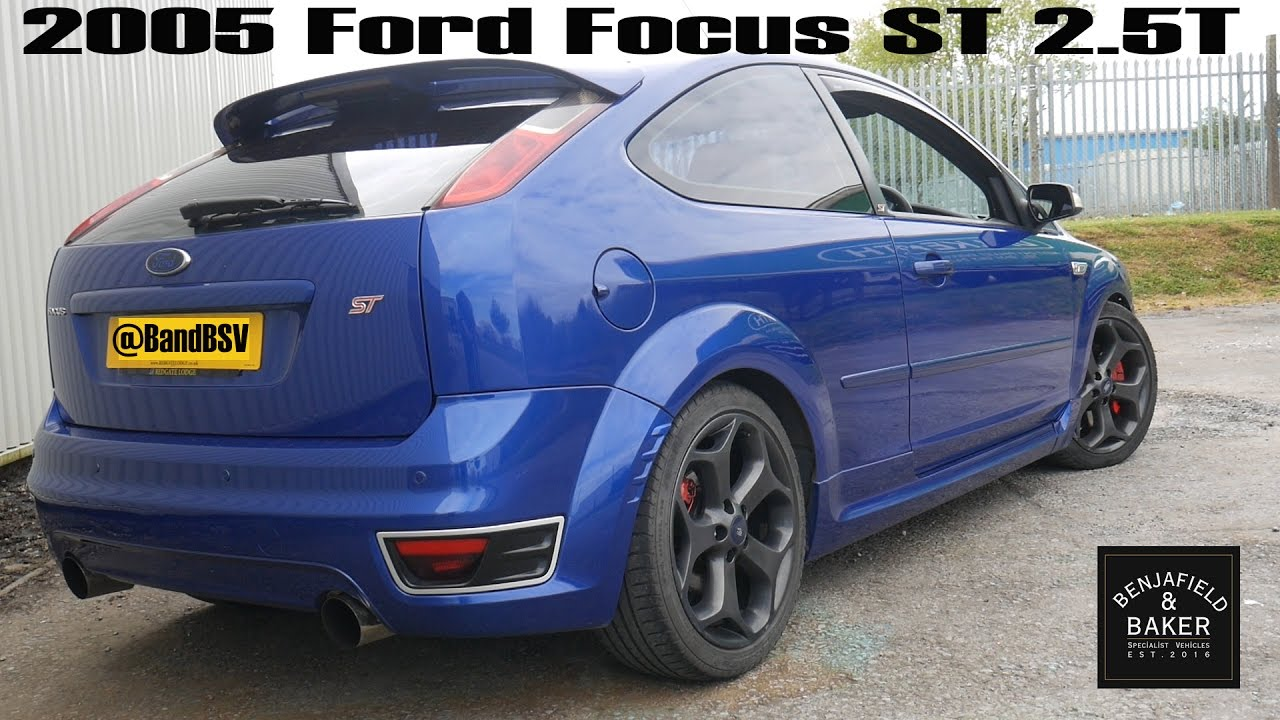 daily drivers 2005 ford focus st 2 5t youtube. Black Bedroom Furniture Sets. Home Design Ideas