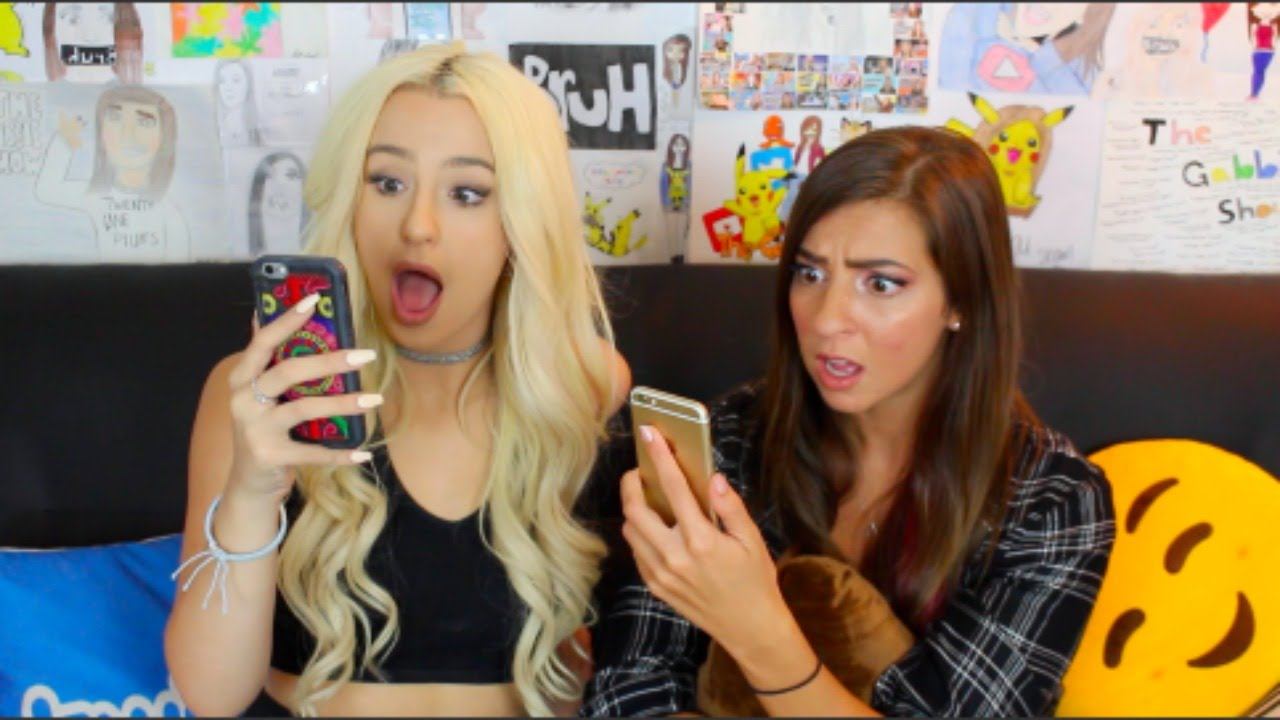 READING MEAN TWEETS FT  THE GABBIE SHOW