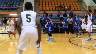 Carver Vo-Tech/Bluford Drew Jemison boys basketball Baltimore City Division 3 finals 2/23/15