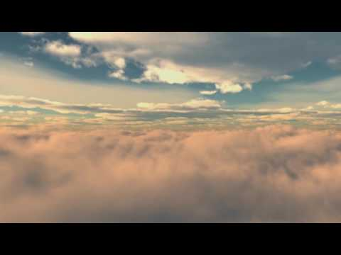 Relaxing Clouds Animation with Moby's Long Ambients Track 3