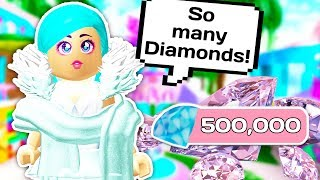 THE BEST WAY TO GET DIAMONDS IN ROYALE HIGH 💎 // Roblox Enchantix High