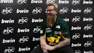 Simon Whitlock 'on top of the world' following incredible victory over Gerwyn Price