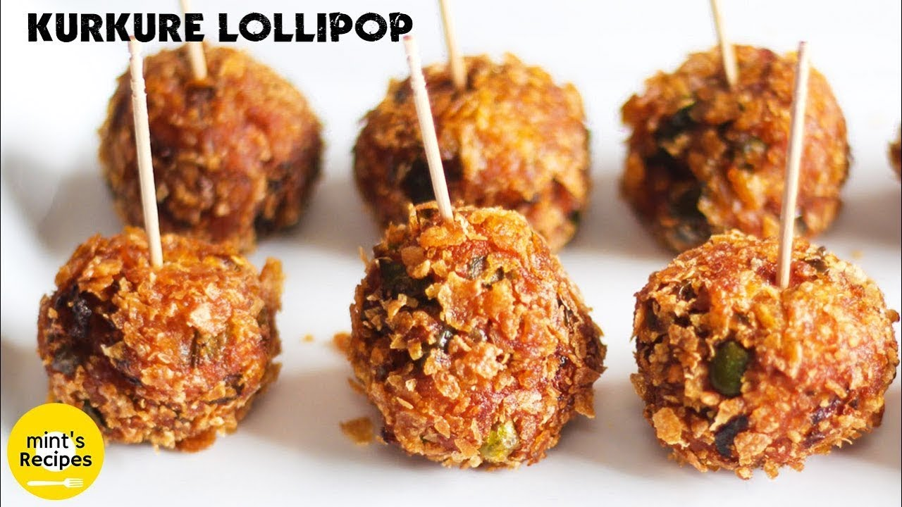 Veg kurkure lollipops recipe evening snacks recipes youtube forumfinder Images