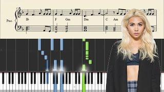 Hayley Kiyoko - Gravel To Tempo - Piano Tutorial + Chords