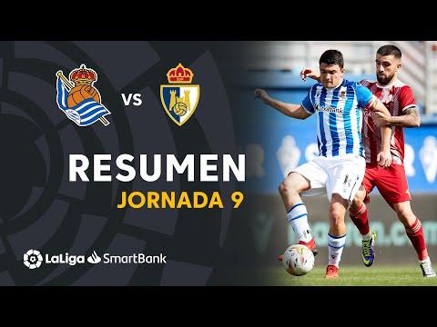 R. Sociedad B Ponferradina Goals And Highlights