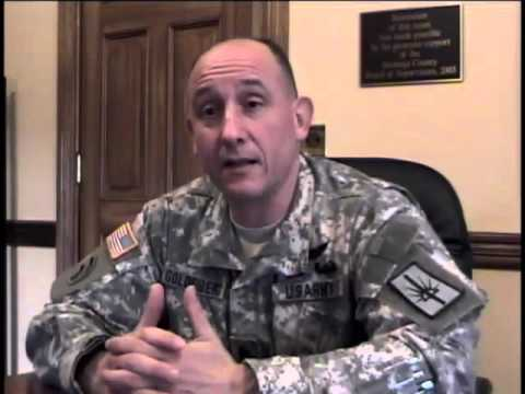 Richard Goldenberg, Lt. Colonel, NY National Guard and US Army, Iraq War