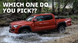 5 AWESOME MIDSIZE Pickups: Which is the BEST??