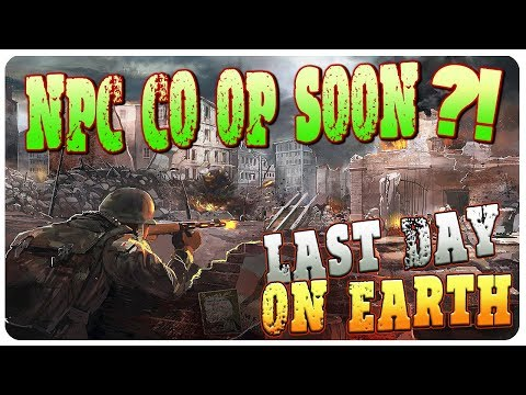 NPC CO-OP MAPS In The Works? New Armor Durability Test!   Last Day On Earth Survival 1.6.4