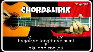 Chord gitar (VIA VALLEN-BAGAI LANGIT DAN BUMI) cipt lasio