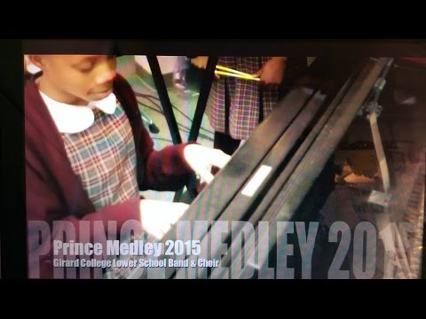 Prince Medley - Girard College Lower School Band and Choir