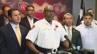 San Antonio firefighter Greg Garza dies in accident at fire scene