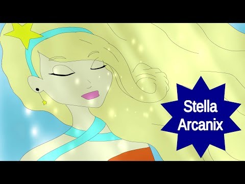 Winx Club - Stella Arcanix [Full Transformation][Fan-Art-Animation]