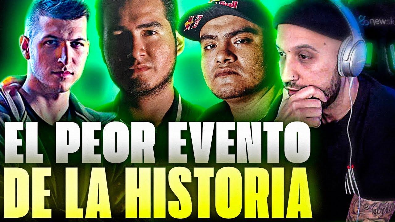 PIEZAS REACCIONA AL PEOR EVENTO DE BATALLAS DE RAP DE LA HISTORIA | VÍDEO DE HBD