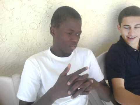 khalifa from senegal....learnt to speak egyptian!! :D