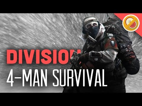SURVIVAL - A BEAUTIFUL TRAGEDY   The Division Survival DLC Gameplay