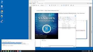NYXCOIN masternode setup guide windows wallet
