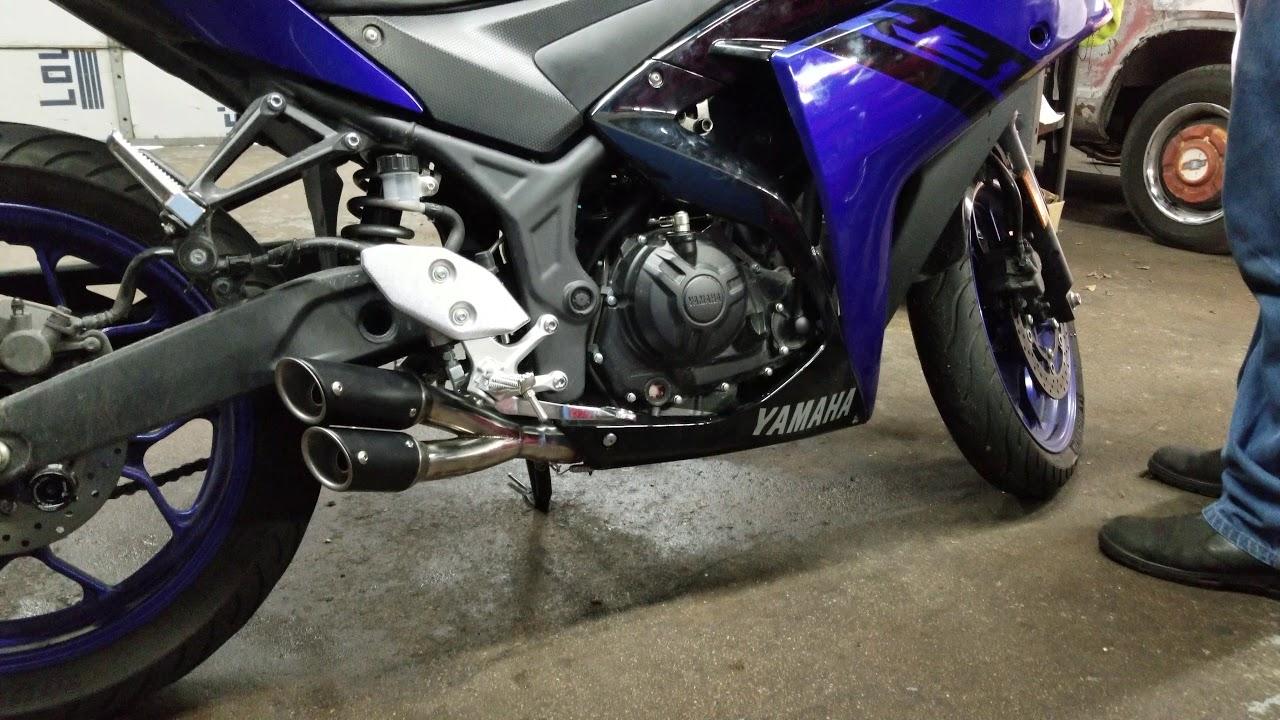 Yamaha R3 Cat Delete And Universal Slip On