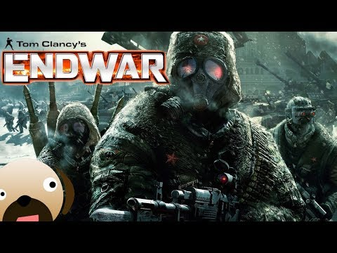 American Forces ATTACK Moscow | Battle for Moscow | WW3 - Tom Clancy's Endwar Gameplay